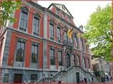 """<font color=""""blue""""><font size=""""+1"""">Liège Hôtel de Ville </font></font>"""