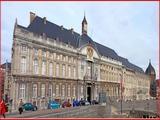 """<font color=""""blue""""><font size=""""+1""""> Liège Le Palais des Princes-Évêques</font></font>"""