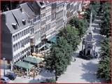 """<font color=""""blue""""><font size=""""+1""""> Liège Place du Marché</font></font>"""