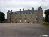 """<font color=""""blue""""><font size=""""+1""""> Château de Bienassis à Erquy, Côtes d Armor, région Bretagne, France</font></font>"""