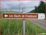 """<font color=""""blue""""><font size=""""+1""""> Haccourt, les Hauts de Froidmont</font></font>"""