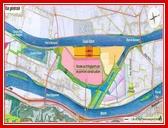 """<font color=""""blue""""><font size=""""+1""""> Accès routier - la construction d un pont au Nord - Après une étude minutieuse, l étude d incidences sur l environnement recommande l option d un pont situé au Nord. Celui-ci sera construit depuis la rive gauche de la Meuse pour aboutir au niveau de l actuel parking le long de l autoroute E25. Il permettra de relier la plate-forme au réseau autoroutier.</font></font>"""