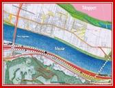 """<font color=""""blue""""><font size=""""+1""""> Accès routier à Liège Trilogiport - Entrée depuis le Nord - En provenance des Pays-Bas, les véhicules emprunteront le rond-point aménagé sur le pont d Argenteau, ré-emprunteront l autoroute E25 en direction de Maestricht afin de rejoindre la bretelle d accès et passeront sur le pont Nord pour rejoindre la plate-forme Liège Trilogiport.</font></font>"""