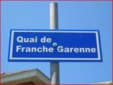 """<font color=""""blue""""><font size=""""+1""""> panneau Quai de Franche Garenne</font></font>"""