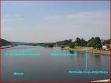 """<font color=""""blue""""><font size=""""+1""""> Hermalle-sous-Argenteau, la Meuse, ile franche garenne</font></font>"""