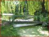 """<font color=""""blue""""><font size=""""+1""""> Noue de Hemlot, ancien bras mort de la Meuse, petit pont à Hermalle-sous-Argenteau</font></font>"""