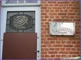 """<font color=""""blue""""><font size=""""+1""""> ancienne usine du canotier Guinotte à Houtain Saint-Siméon</font></font>"""