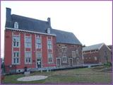 """<font color=""""blue""""><font size=""""+1""""> Ferme Christophe à Vivegnis, site classé par la commune Oupeye ferme en briques et calcaire de la 1re moitié du XVIIIe s. de style Renaissance mosane avec fortes influences de style Louis XIII Édifiée vers 1600 et à l époque propriété de Curtius, la ferme « Christophe » a été rachetée par le CPAS d Oupeye en 1990.</font></font>"""
